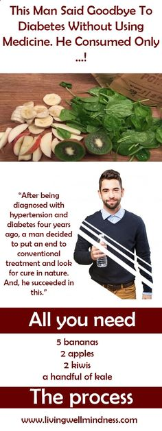 After being diagnosed with hypertension and diabetes four years ago, a man decided to put an end to conventional treatment and look for cure in nature.