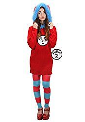 Dr Seuss Halloween Costumes for the Whole Family! | Time for the Holidays