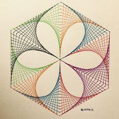 #geometry #symmetry #square #tessellation #tiling #Escher