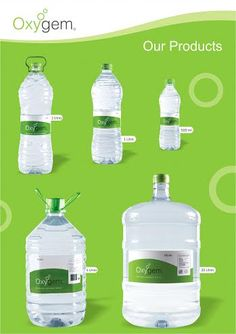 "Our Products.  ""Oxygem"" provides fresh & pure Packaged #DrinkingWater."