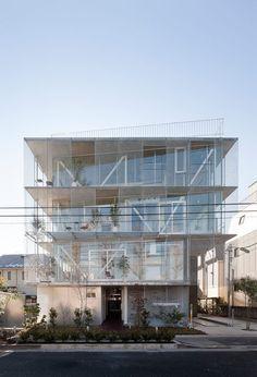 Mitsuhiko Sato Architect and Associates - Komatsunagi Terrace (2015) Shimouma, Japan