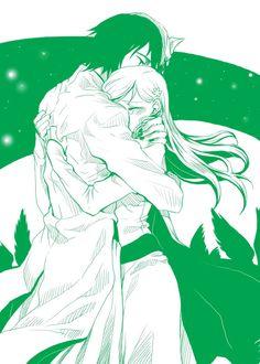 Ulquiorra and Orihime | Tumblr