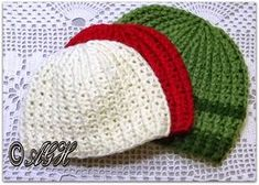 AG Handmades: FREE Pattern_ Easy Ribbed Beanie ~ Newborn to Adult