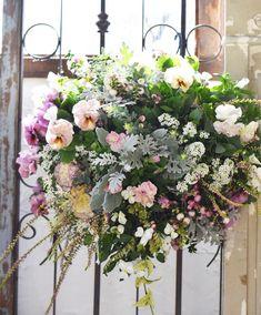 NanaはInstagramを利用しています:「こちらはお客様オーダーの#ハンギングバスケット…」 Floral Wreath, Wreaths, Instagram, Home Decor, Floral Crown, Decoration Home, Door Wreaths, Room Decor, Deco Mesh Wreaths