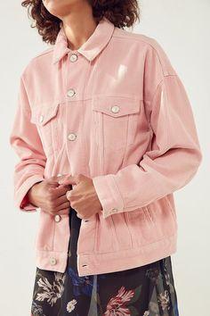 BDG Corduroy Trucker Jacket Corduroy, Shirt Dress, Mens Tops, Jackets, Shirts, Dresses, Closet, Photography, Women