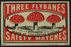 Three Flybanes Sweden