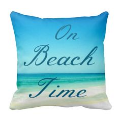 Blue Ocean Beach Typography Pillow: http://www.beachblissdesigns.com/2015/09/blue-ocean-beach-typography-pillow.html