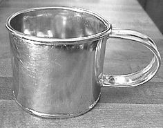 Directions for making this tin cup.  I would love to do this.