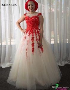 2019 Wedding Dress with Red - Wedding Dresses for the Mature Bride Check more at http://svesty.com/wedding-dress-with-red/