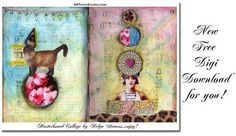 altered book collage tutorial