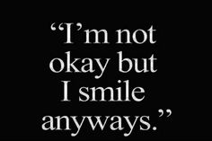 Its ok to be sad sometimes! :3 just make sure it doesnt get out of hand, if it does, help is always there.