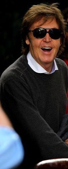 Love his sweater❤️ #PaulMcCartney
