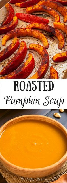 It's pumpkin-everything season! But that doesn't have to only mean unhealthy foods and pumpkin coffees.  Try this roasted pumpkin soup recipe, it's seasonal, healthy, and delicious!