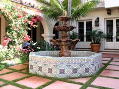 Outdoor Fountain Tile