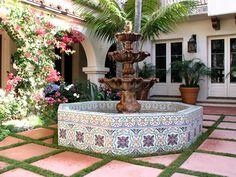 Outdoor Fountain Tile