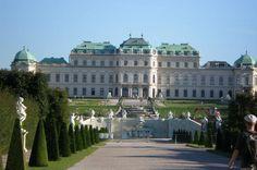Palacio Belvedere en Viena; otra joya de la Corona