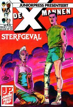 X-Mannen #45 Sterfgeval