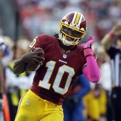 Lets recap: Heisman Trophy winner 2011. #2 overall draft pick 2012. Rookie of the Year 2012. Pro Bowler 2012. #15 overall NFL player voted by peers 2013. #5 overall NFL quarterback voted by peers 2013 (and beat out rothlisberger, e.manning, flacco, cam, Matty ice, and Russell AND luck. Not to mention romo and Vick weren't even on the list). Plus lead my boys to be NFC East champions! This guy is a BEAST! My hero. <3