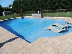 Having a pool sounds awesome especially if you are working with the best backyard pool landscaping ideas there is. How you design a proper backyard with a pool matters. Backyard Pool Landscaping, Backyard Pool Designs, Swimming Pools Backyard, Swimming Pool Designs, Lap Pools, Inground Pool Diy, Backyard Ideas, Pool Liners Inground, Vinyl Pools Inground