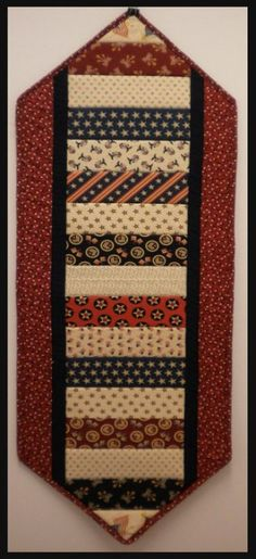 Fast & Easy 4th of July Sewing Table runner Kit