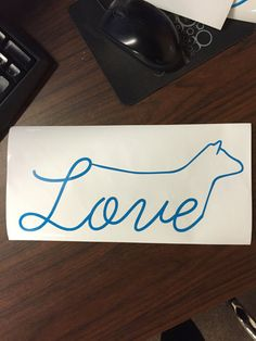 Show Cattle Love Show Heifer Vinyl Sticker by CarouselDesign