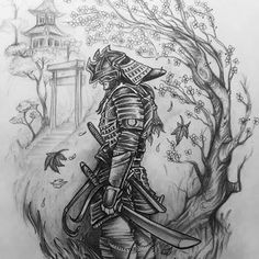 Discover recipes, home ideas, style inspiration and other ideas to try. Samurai Maske Tattoo, Samurai Warrior Tattoo, Warrior Tattoos, Japanese Temple Tattoo, Japanese Tattoo Art, Japanese Art, Samurai Drawing, Samurai Artwork, Manga Drawing