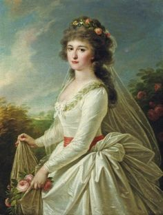 Countess Anna Ivanovna Chernysheva by Angelica Kauffmann