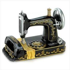 It's a phone!  I might just need this for my craft room!  $99.95 means I'll have to think on it....