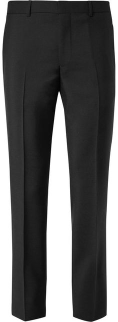 Givenchy Slim-Fit Star-Embellished Wool and Mohair-Blend Trousers
