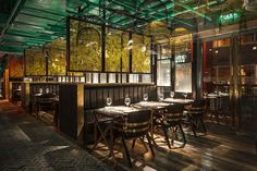 Ресторан с секретным садом в Пекине | AD Magazine