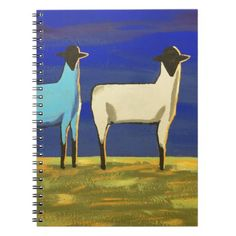 Blue Monday Notebook - country gifts style diy gift ideas