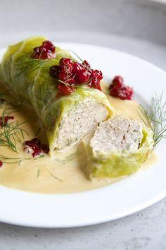 Norwegian cabbage rolls More