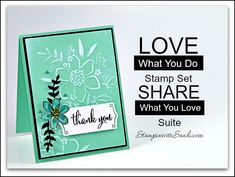 Canadian Stampin Up Demonstrator Sandi MacIver shares a video for Love What You Do Sneak Peek, a card created with some of the new products coming in the 2018 - 2019 Annual Catalogue