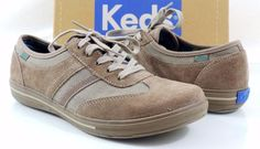 Women's Shoes Keds SPORTIVE Lace Up Fashion Sneakers Walnut Suede Size 8.5 #Keds #FashionSneakers