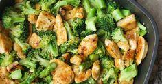 Zitronenhähnchen mit Brokkoli | Rezept | Kochen | Essen | Weight Watchers, Hähnchen, Spargel, schnelle Küche, Feierabendküche, Low Carb,