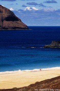 Playa de la Concha, La Graciosa, Lanzarote, Islas Canarias,  Spain.