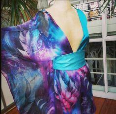 dress  print work