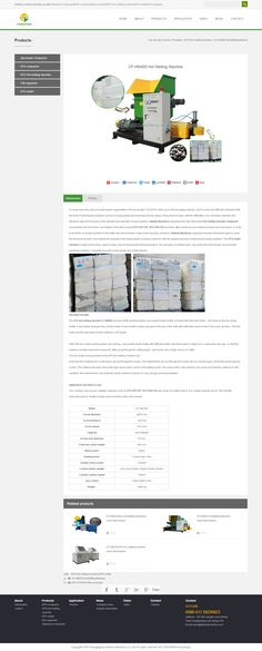 CF-HM400 Hot Melting Machine _ Styrofoam Compactor_EPS compactor_EPS Hot melting machine_EPS melter _Film squeezer_qinfeng machine