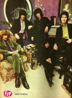Deep Purple, London, 1968.