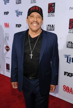 Danny Trejo arrives at FX's 'Sons Of Anarchy' premiere