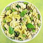 Ottolenghi's Fried Zucchini Pasta Salad