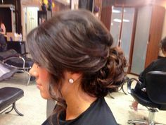 Bridesmaid hair? Without the piece on the side
