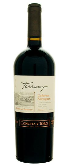Concha y Toro Terrunyo 2005 Cabernet Sauvignon Booze Drink, Wine Drinks, Alcoholic Drinks, Just Wine, Wine And Liquor, Cabernet Sauvignon, Whisky, Chilean Wine, Champagne Drinks