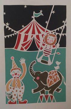 Night circus paper cut. Copyright Rachel Batteson