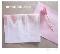DIY Cards DIY Craft  DIY Mother's Day