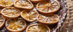 Tarte chocolat-orange