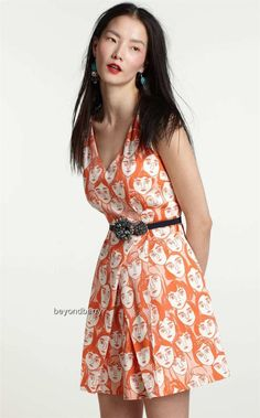 New Anthropologie Leah Reena Goren Poker Faced Dress Size 4 8 10 12 | eBay