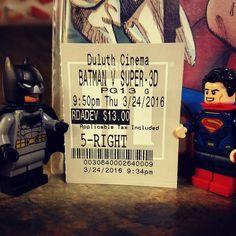 Batman vs Superman!  #lego #afol #legos #legoaddict #legostagram #brickstagram #wonderwoman #minifigure #minifig #tubelug #brick #playwell #batmanvsuperman #batman #superman by mrs_vantastic