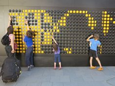 Song Board Installation by CSM Students - News - Frameweb