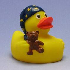 Duckshop - der Shop für Badeenten und Quietscheentchen - Schlafmützen Quietscheentchen